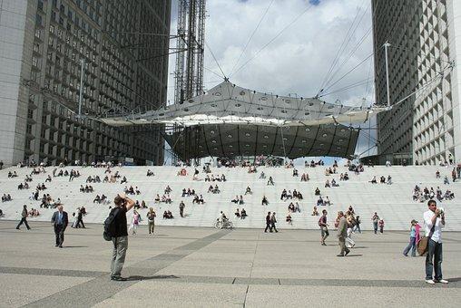 Paris, Défense, Cube, Mogern Architecture, The Landmark