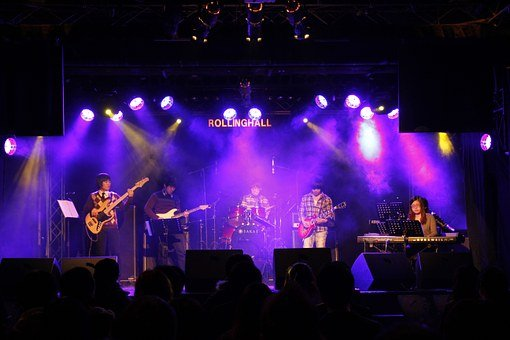 Music, Stage, Joe Cotton, Asian Band, Rollinghall