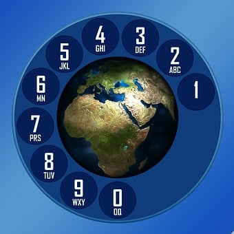Dial, Earth, Globe, Pay, Digits, Letters, Ring, Rotary