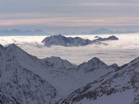 Alps, Stubai, Great