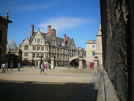 Oxford, England, Buildings, Regi, Old Buildings, Ter