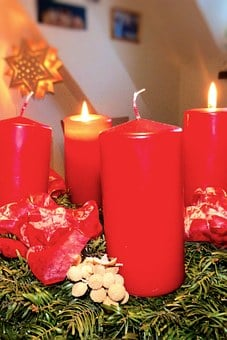 Advent, Advent Wreath, Atmosphere, Christmas Time
