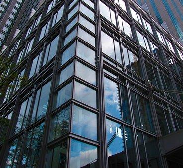 Building, Montréal, Architect, Canada, Reflection