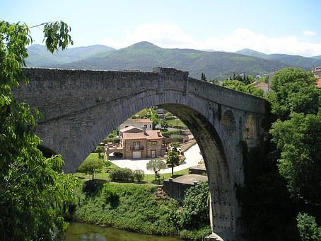 Ceret, Pont Du Diable, Bridge