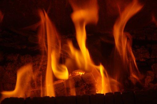 Fire, Heat, Flame, Burn, Warm, Wood, Wood Fire, Hot