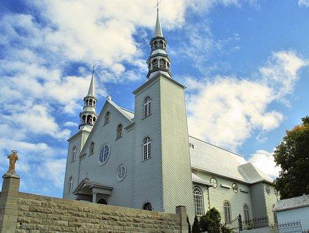 Canada, Quebec, Cap-santé, Church, Holy Family, History