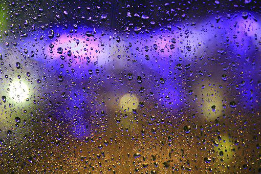 Rain, It's Raining, Water Droplets