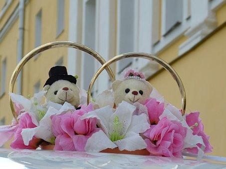 Marriage, Wedding Car, Marry, Russia, Wedding, Love
