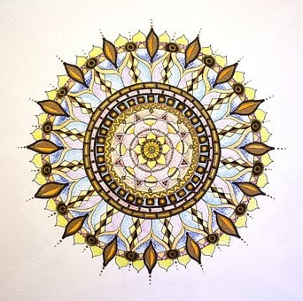 Mandala, Drawing, Hand Drawn, Art, Abstract, Patterl