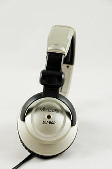 Headphones, Dj, Audio, Mp3, Music, Multimedia