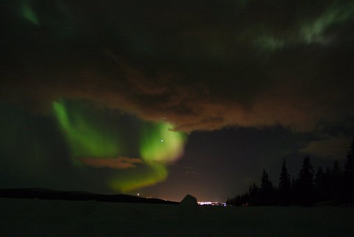 Aurora, Borealis, Northern Lights, Atmosphere