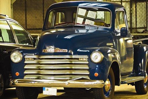 Auto, Chevrolet, Oldtimer, Usa, Vehicle, Old