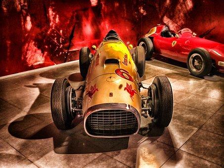 Ferrari, 1952, Racing, Racer, Sports Car, Car