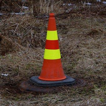 Safety Cone, Cone, Attention Symbol, Warn, Dash