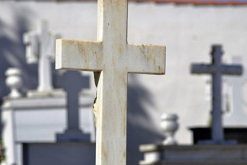 Cemetery, Death, Cruz, Sculpture, It Headstone