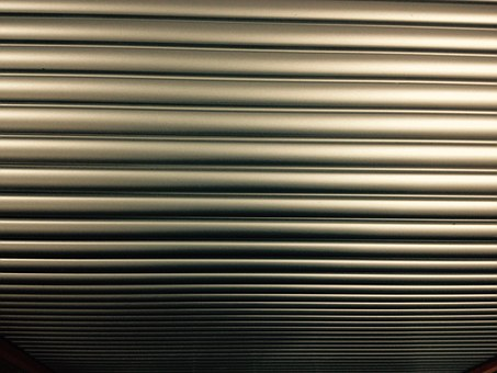 Shutters, Silver, Steel, Stripes, Structure, Cabinet