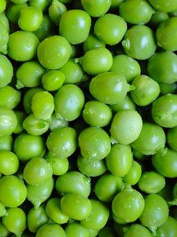 Peas, Vegetables, Garden, Shelled, Fresh, Green