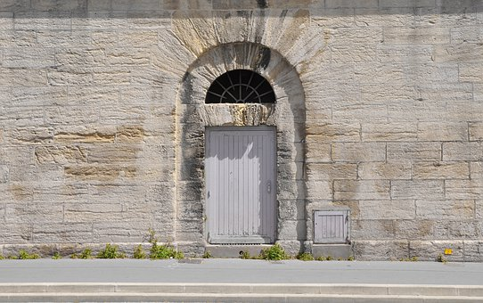 Door, Wall, Home, Building, Masonry, Input, Goal