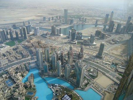 Dubai, Burg Khalifa, 122 Floor