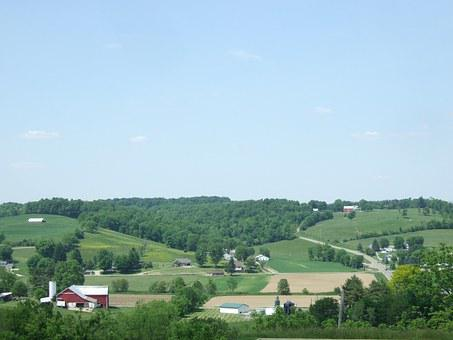 Amish, Countryside, Ohio, Landscape, Country, Scenic