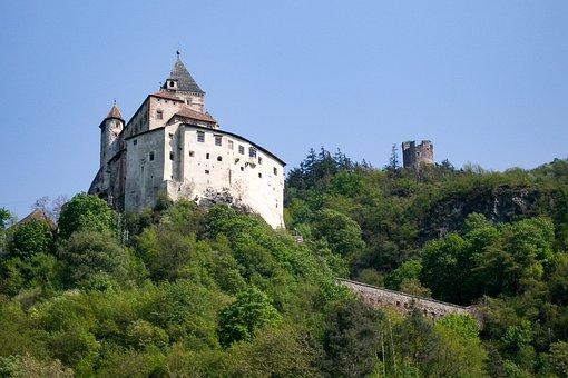 Castle, Summer, Forest, Architecture, Sky, Building