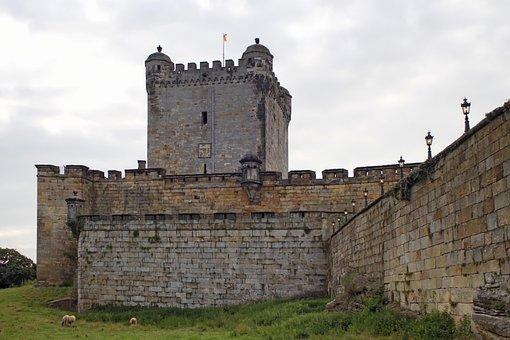 Burg Bentheim, Powder Tower, Keep, Bad Bentheim