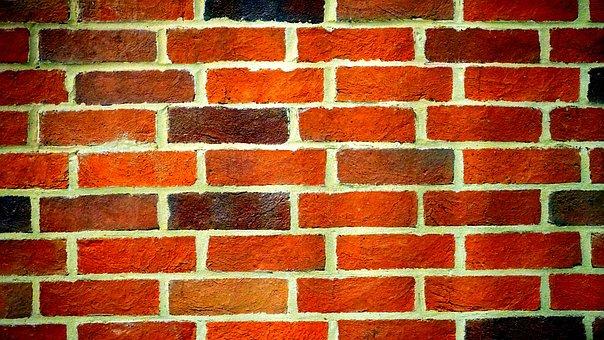 Wall, Brick, Brick Wall, Red, Construction, Building
