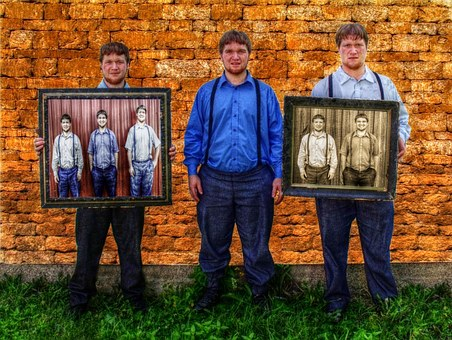 Amish, Brothers, Pictures