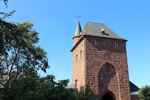 Nideggen, Castle, Burg Nideggen, Eifel, Historically