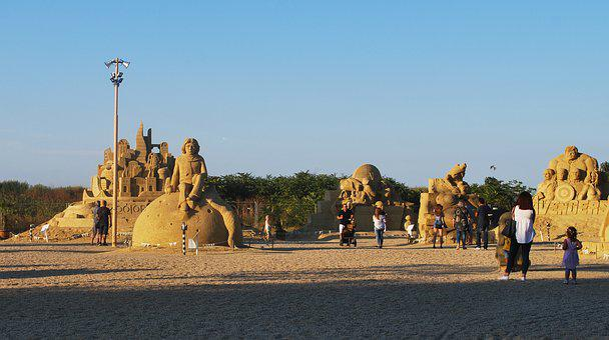 Burgas, Bulgaria, Sand, Castle, Avengers, From Sand