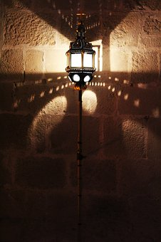 Lamp, Cathar Lamp, Light And Shade, Old Lamp