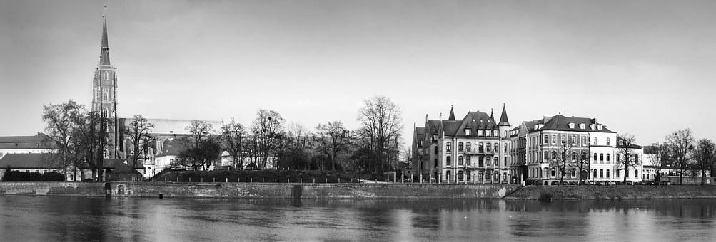 Wroclaw, Panorama, Europe, Poland, Travel, Cathedral