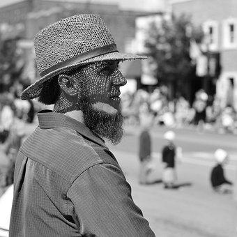 Amish, Man, Clothing, Rural, Male, Shipshewana, Indiana