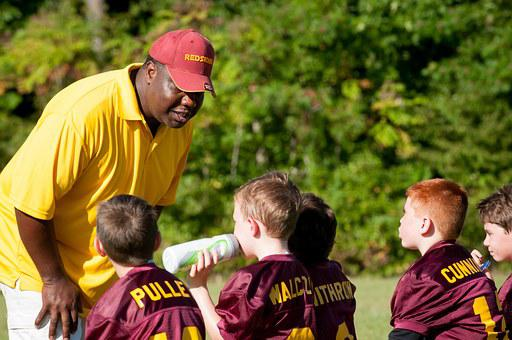 Coach, Trainer, Flag Football, Football, Sport, Game