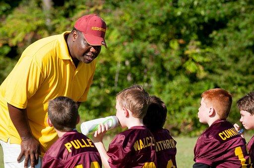 Coach, Trainer, Flag Football, Football, Sport, Game