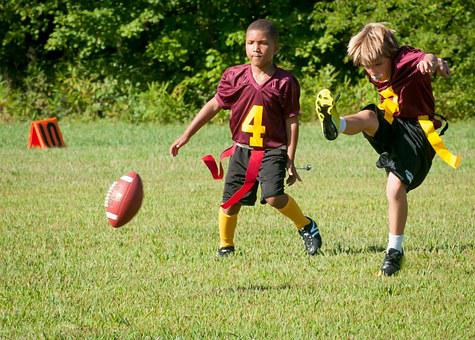 Flag Football, Football, Flag, Sport, Game, Competition