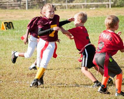 Flag Football, Football, Sport, Game, Competition