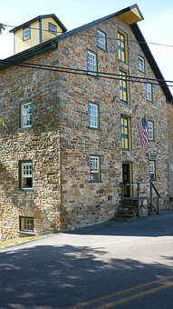 Barn, Country, Countryside, Pennsylvania, Amish