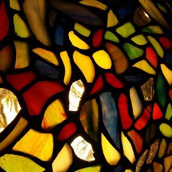 Tiffany, Glass, Stained Glass, Decorative, Decoration