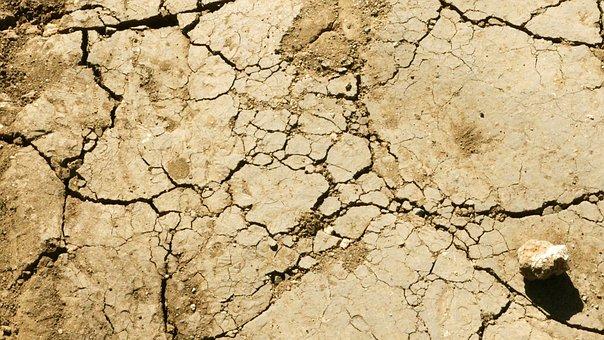 Ground Texture, Ground, Texture, Crack, Dry, Desert
