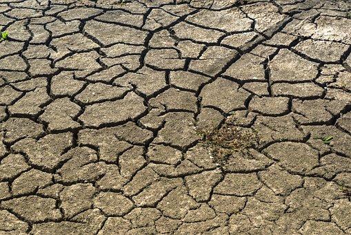 Drought, Mud, Dry, Africa, Famine, Hunger, Cracks