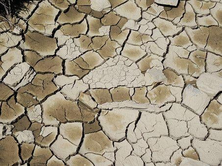 Drought, Mud, Cracked Earth, Dry Land