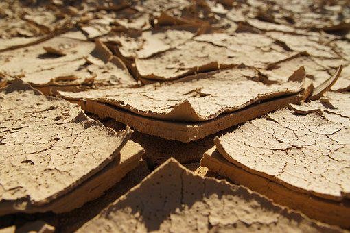 Earth, Drought, Dry, Cracked, Dehydrated, Ground