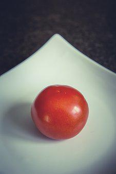 Tomato, Plate, Eat, Salad, Starter, Healthy, Restaurant