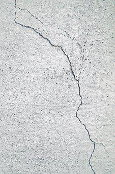 Crack, Facade, Wall, Structure, Plaster, Details