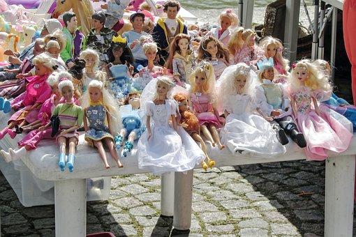 Flea Market, Dolls, Toys, Children Toys, Colorful