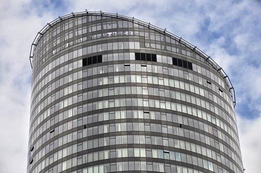 Building, The Skyscraper, Futuristic, The Height Of The