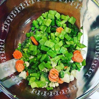 Green, Salad, Food, Healthy, Healthy Food, Vegetables