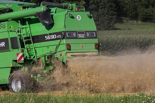 Combine Harvester, Harvest, Harvester, Chaff