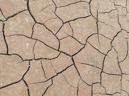 Drought, Terry, Infertility, Dry, Cracks, Anhydrous
